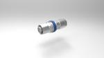 Der M12 Mini von Provertha hat eine Länge von 44 mm bei einem Außendurchmesser von 16/14 mm. Trotzdem bietet der Stecker einen Kabelklemmbereich von 4 bis 9 mm. Das spezielle Vollmetall-Gehäuse sorgt für eine effektive Schirmung mit hoher EMV. Gleich