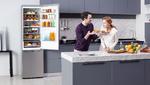 Neue Kühl-Gefrierkombinationen für noch mehr Frische
