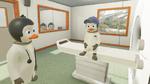 Pinguine nehmen Kindern die Angst vor dem MRT