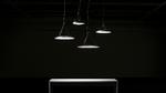 Dekorative runde Leuchte