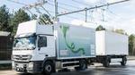 Erster Hybrid-Lkw in Hessen unterwegs