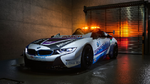 BMW zeigt i8 Roadster Safety Car