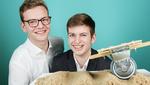Preisträger Anton Fehnker und Simon Raschke