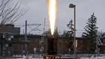 Das getestete Raketentriebwerk zeigt die Belastung, der die Komponenten während des Starts ausgesetzt sind.