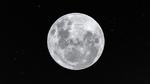 Blitze auf dem Mond