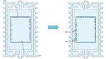 Anordnung der Stromversorgungsanschlüsse bei ICs.