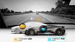 Special Head-Up Display for Sports Cars