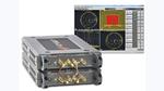 Zwei Keysight Streamline-P9375A mit jeweils zwei Eingängen sind zu einem 4-Port-Netzwerkanalysator zusammengeschaltet