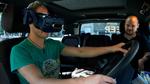 Lkw-Fahrer testen digitale Fahrzeugsysteme im mobilen Simulator