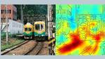 Hier klassifiziert das KI-System ein Bild als Zug, da Schienen vorhanden sind.