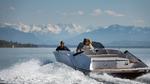 Yacht mit emissionsfreiem Antrieb