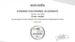 Lieferkette von EcoVadis ausgezeichnet