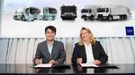 Volvo und Samsung entwickeln Batterien für Elektro-Lkw