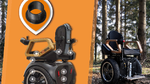 Schmierfreie Lager erhöhen Sicherheit in Gelände-Rollstuhl
