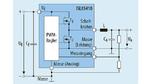 Vereinfachter Schaltplan eines Abwärtswandlers, realisiert mit dem ISL85410. Er benötigt im Prinzip nur wenige externe Bauteile: Speicherdrossel, Eingangs- und Ausgangskondensator sowie den Spannungsteiler zum Festlegen der Ausgangsspannung