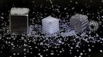 3D-gedrucktes Salzgerüst für bioresorbierbare Knochenimplantate