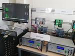 Hardware-Testbed, entwickelt im »RelCOvAir«-Projekt, für die Bewertung von drahtloser Kommunikation im industriellen Umfeld.