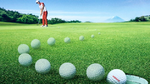 Self-tapping Golf Ball