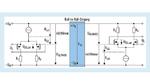 Der Gleichtaktspannungsbereich eines OPV-Eingangs mit komplementären FET-Paaren teilt sich zwischen den PMOS- und NMOS-FET-Paaren auf