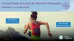 Herzfrequenz-, SpO2- und Temperaturmessung für Wearables