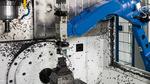 Bearbeitungszentrum beschicken – per Roboter