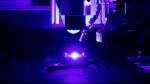 Blauer Laser für die Bearbeitung von Buntmaterialien