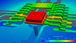 Vollständige elektrisch-thermische Co-Simulation