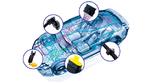Immer mehr Komfort- und Sicherheitsfunktionen im Fahrzeug – Kunststoffelemente bieten den notwendigen Schutz.
