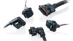 Steckerkappen in verschiedenen Abgangsrichtungen für unterschiedliche Stecker und Stiftgehäuse unterstützen bei der optimalen Ausrichtung des Leitungssatzes.