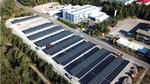 Grüne Produktion mit Sonnen-Energie