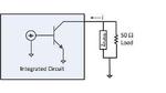 Bild 2. Schaltung am Open-Colector-Ausgang für die AC-Analyse.