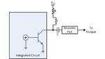 Bild 5. Soll der PLL-Synthesizer auch bei niedrigen Frequenzen arbeiten, kann ein Widerstand in Reihe zur Induktivität geschaltet werden. Ein Dämpfungsglied in der Ausgangsleistung reduziert zwar die Ausgangsleistung, sorgt aber für eine gleichmäßige