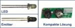 Komponenten für einen Sensor