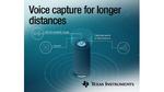 TI Burr-Brown Audio ADC vervierfacht Spracherfassungsdistanz