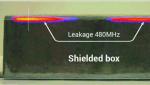 Für 3D-EMV-Messungen rastert eine Nahfeldsonde den Prüfling in allen drei Raumrichtungen ab. Hier ist die Messung entlang eines Gehäuses gezeigt....