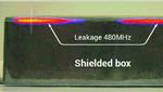Für 3D-EMV-Messungen rastert eine Nahfeldsonde den Prüfling in allen drei Raumrichtungen ab. Hier ist die Messung entlang eines Gehäuses gezeigt.