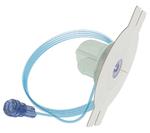 Die »mylife YpsoPump« wird mit einem Infusionsset verwendet. Dieses besteht aus einem Schlauch, einem Adapter (verbindet den Infusionsset mit der Pumpe), der Kanülenbasis mit Pflaster (zur Befestigung an der Haut), der Schlauchkappe (verbindet Schlau