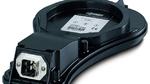 Der fiber-optische Sensor wird zur Blitzmessung eingesetzt.