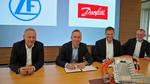 ZF und Danfoss schließen strategische Partnerschaft