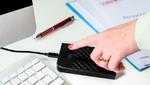Per Fingerabdruck Zugriff auf USB-Sticks und externe Festplatten