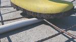 Das Highspeed-Rohr FFKuS-EM-F ist tritt- sowie rüttelfest und besteht durch den speziellen Schutzmantel die alltäglichen Beanspruchungen auf der Baustelle.