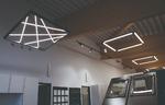 Intelligentes Konzept mit Lichtakzenten