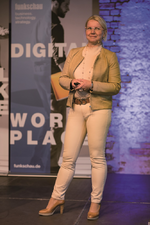 Hanna Hennig, Osram, auf dem Digital Workplace Forum 2019