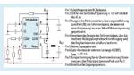 Prinzip-Grundschaltung von Texas Instruments für einen DC/DC-Wandler auf der Basis des Schaltregler-ICs TPS40200