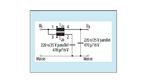 Lineares Zweitor-Filter mit einer gekoppelten Induktivität (Würth Nr.: 74489440068) zum Dämpfen von Störwechselströmen in Gleichstromkreisen