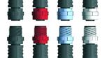 M12x1-Stecker mit Kunststoffüberwurf von Escha