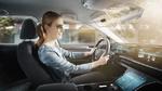 Transparente digitale Sonnenblende macht Autofahren sicherer