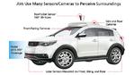 Autonome Fahrzeuge müssen viele Sensoren und Kameras nutzen, um ihre Umgebung wahrzunehmen