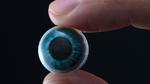 Kontaktlinse mit integriertem Display