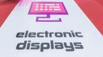 Für die Sonderschau Electronic Displays Area in Halle 1 und Halle 3 haben sich 111 Aussteller angemeldet. ...